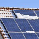 Rendimiento de las placas solares en invierno y otoño